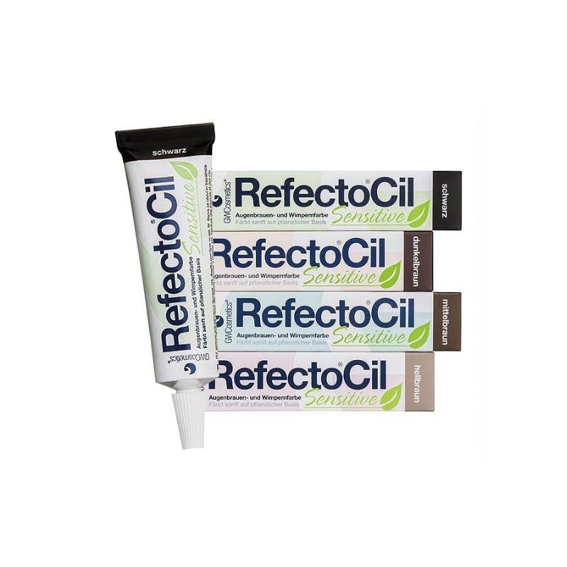 Tinte Refectocil Sensitive para pestañas y cejas